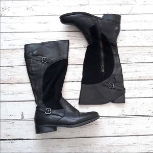 EDDIE BAUER Leather Patrice Riding Boots